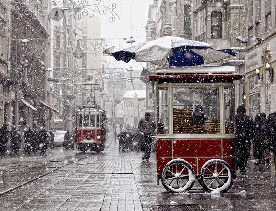 زيارة تركيا في الشتاء