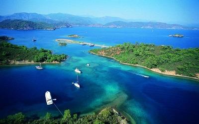جزر تركيا