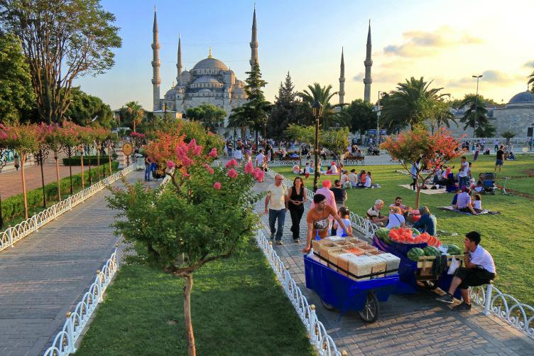 منطقة السلطان أحمد
