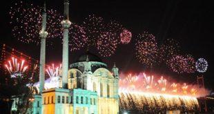 احتفالات ليلة رأس السنة في اسطنبول