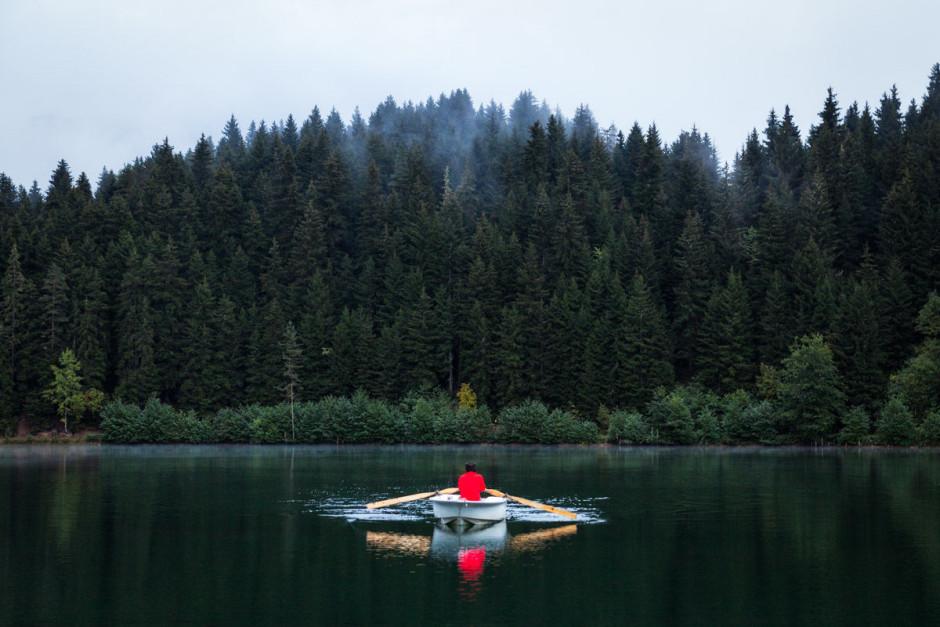 التجديف فى البحيرات