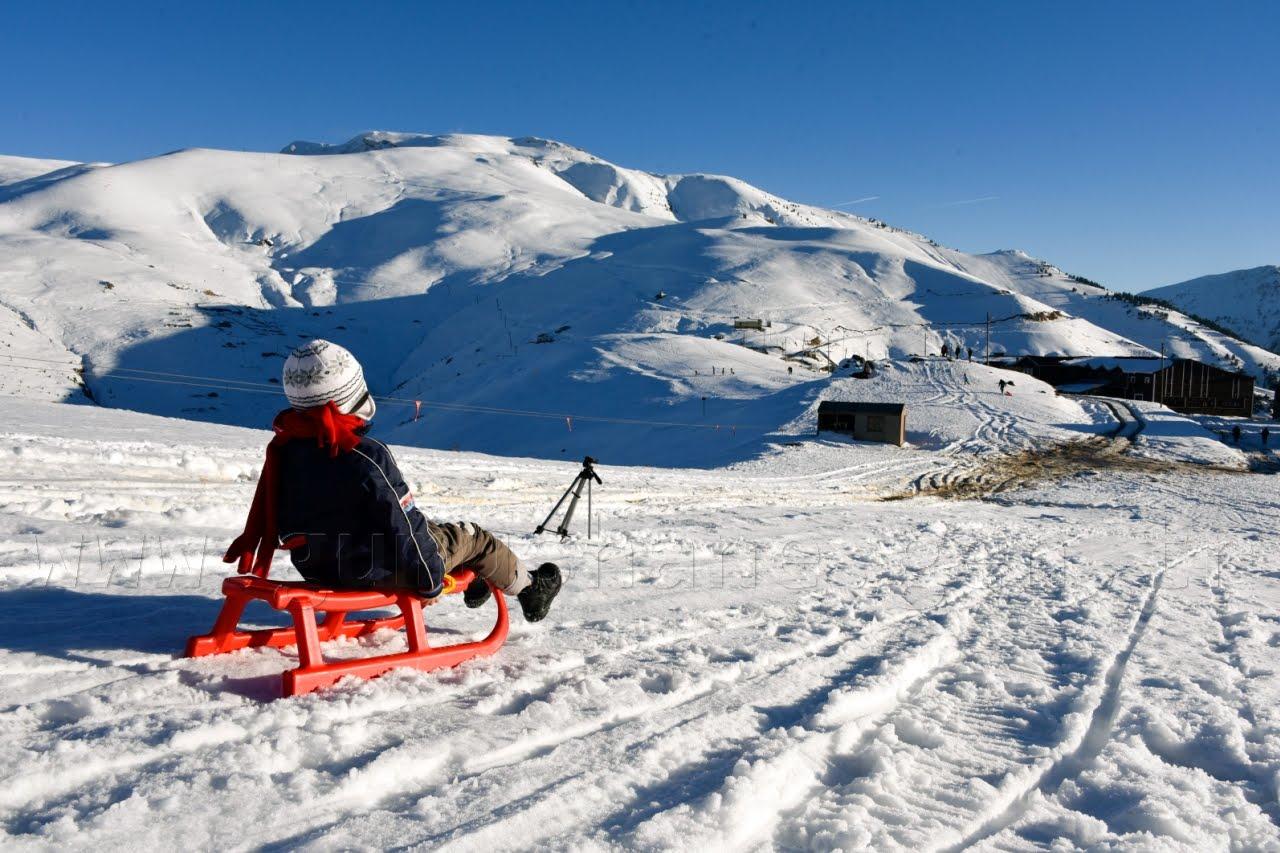 التزلج فى الشمال الشرقى من تركيا