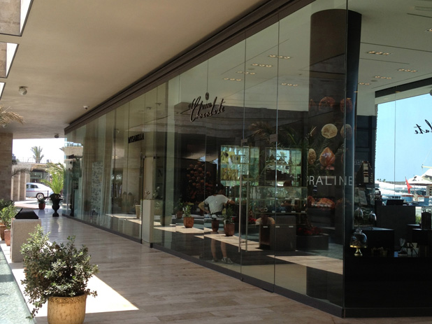 التسوق في palmarina