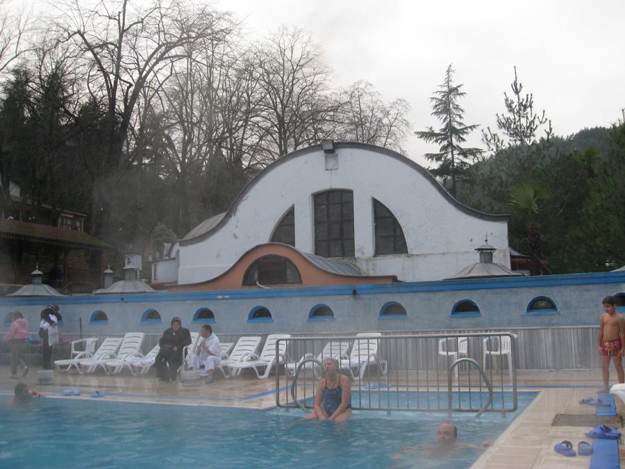 الحمامات الحرارية فى يالوفا