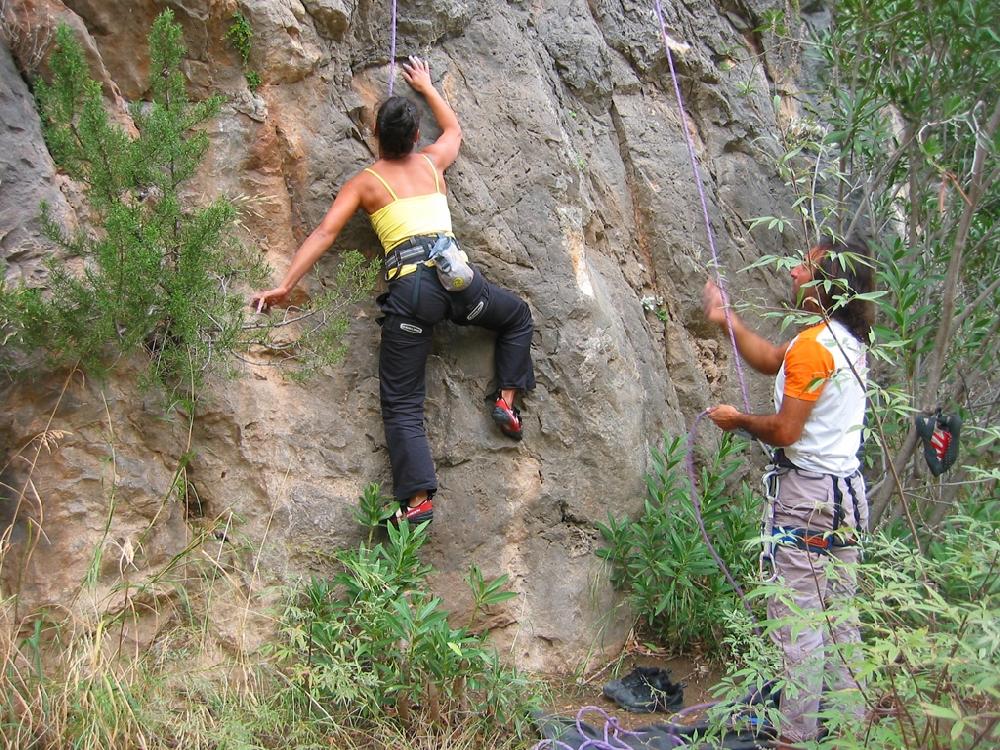تسلق الصخور