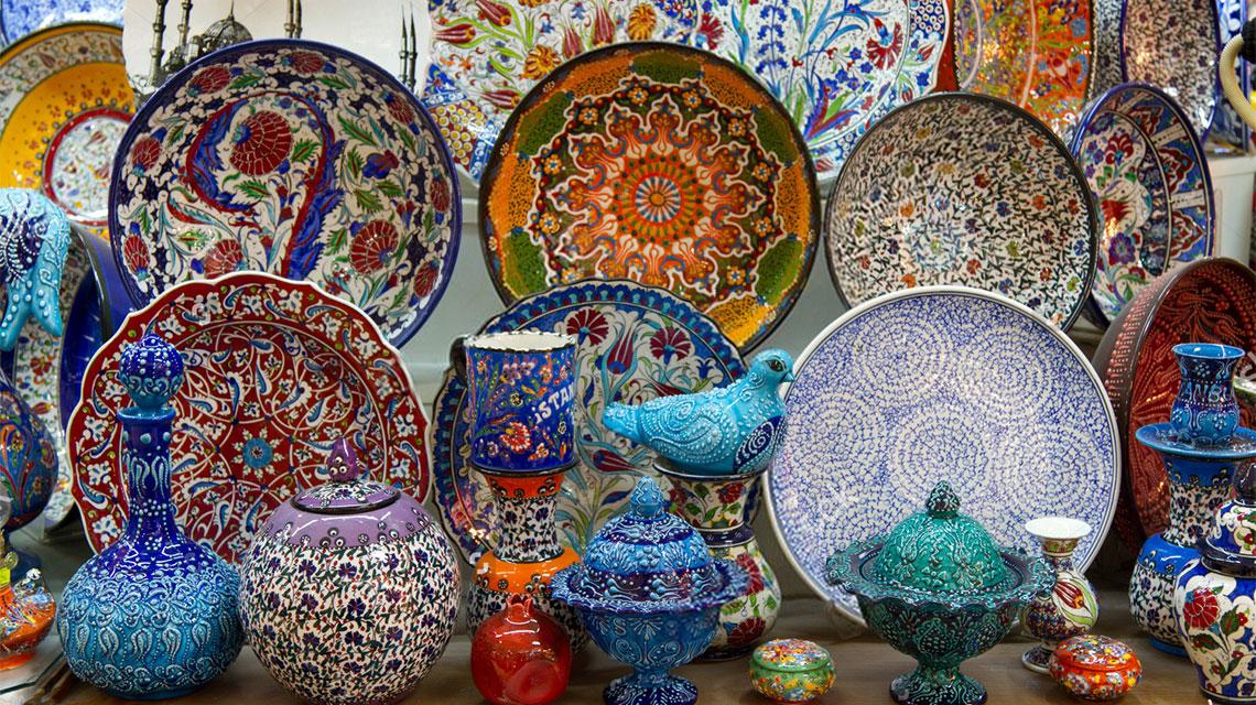 فن الخزف التركى