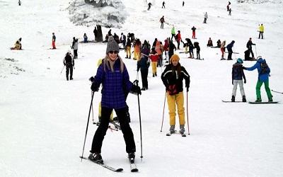 التزلج في منتجعات تركيا