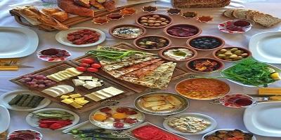 الطعام في تركيا
