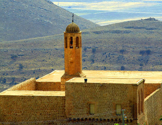 Forty Martyrs Church in Mardin