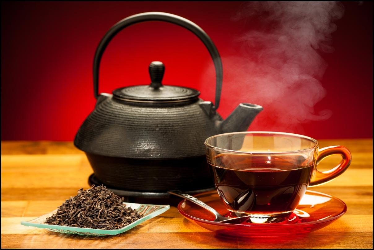 مشروب الشاي الاسود التركي