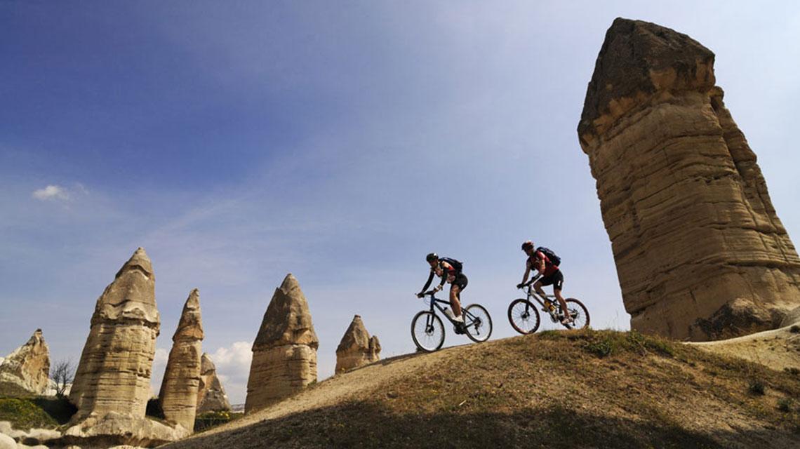 ركوب الدرجات الجبلية