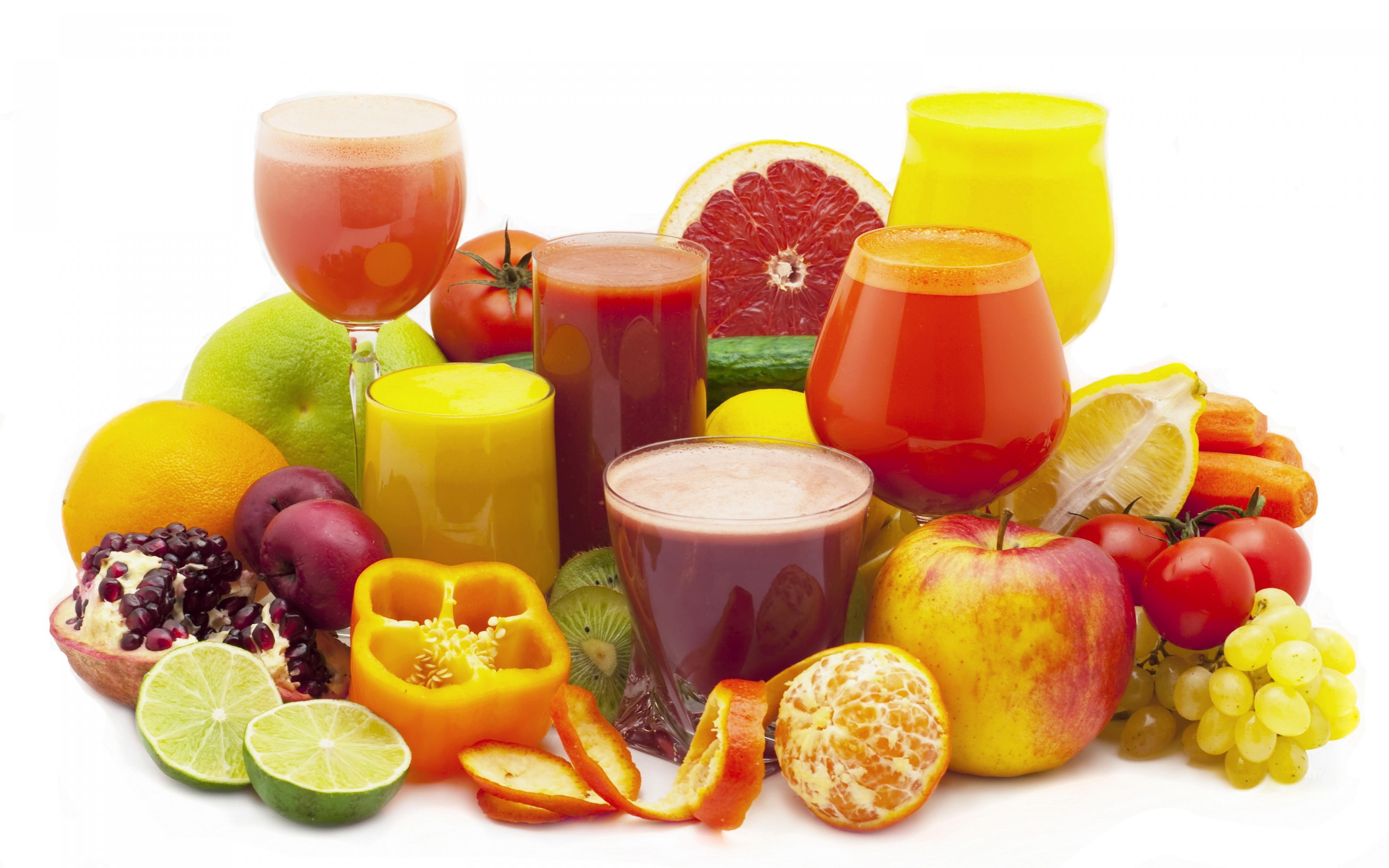 عصير الفواكه الطازجة
