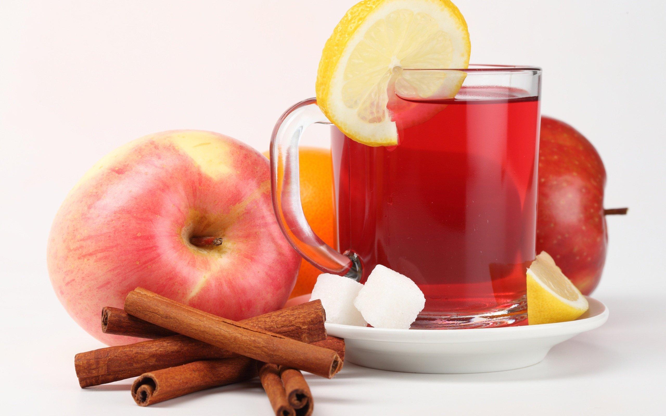 شاي التفاح التركي