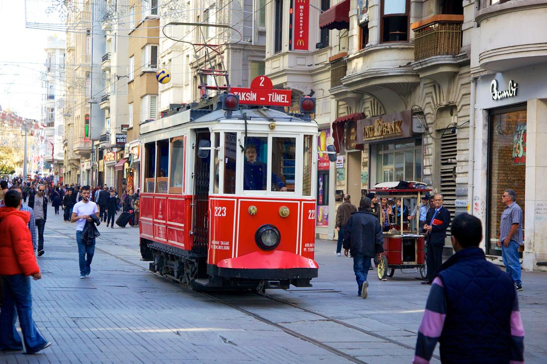 التجول فى اسطنبول