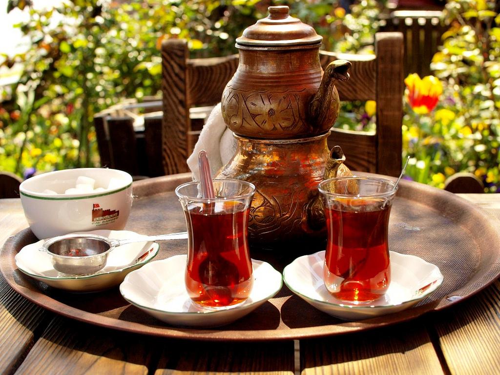 الشاى التركى