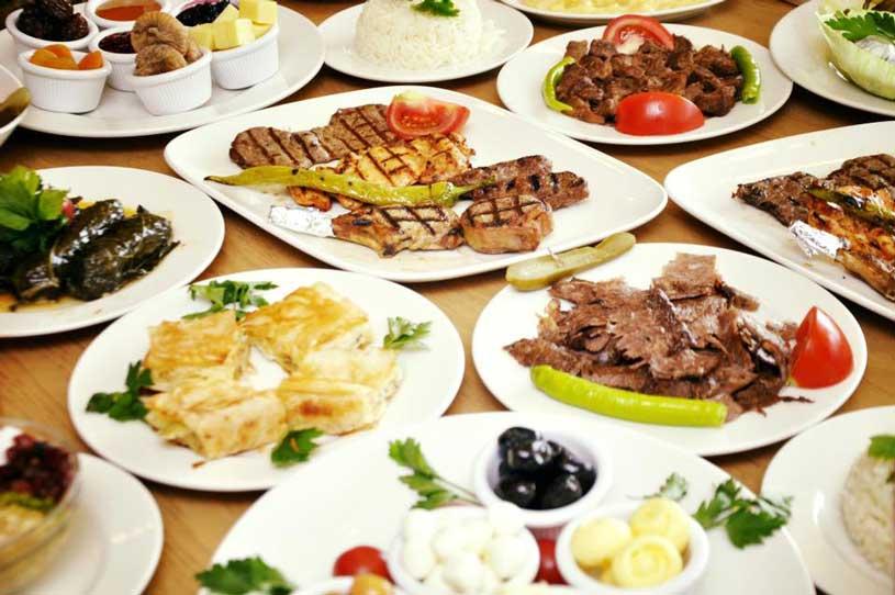 الطعام فى اسطنبول