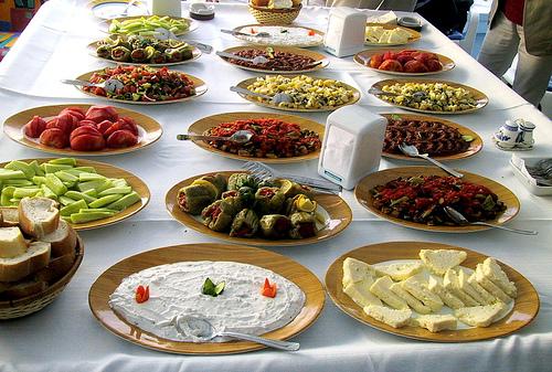 المائده التركية