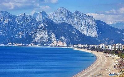 معالم تركيا السياحية على ساحل البحر الابيض المتوسط