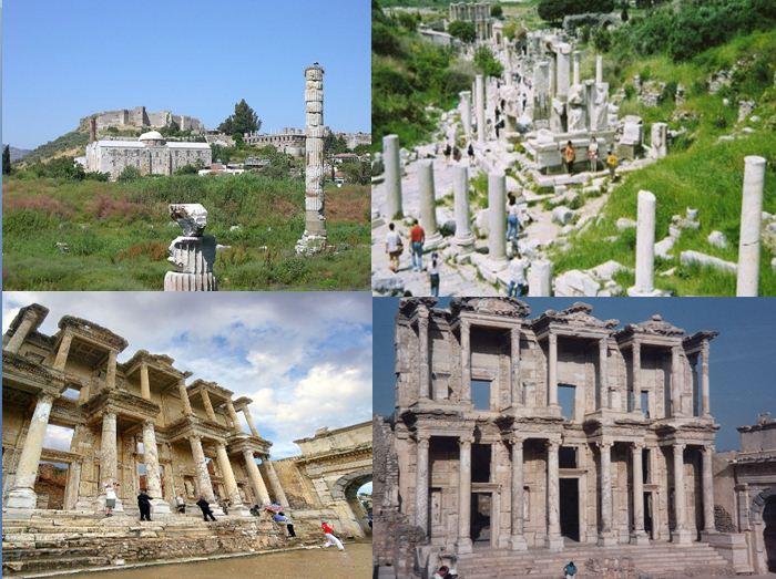 السياحة في افسس تركيا