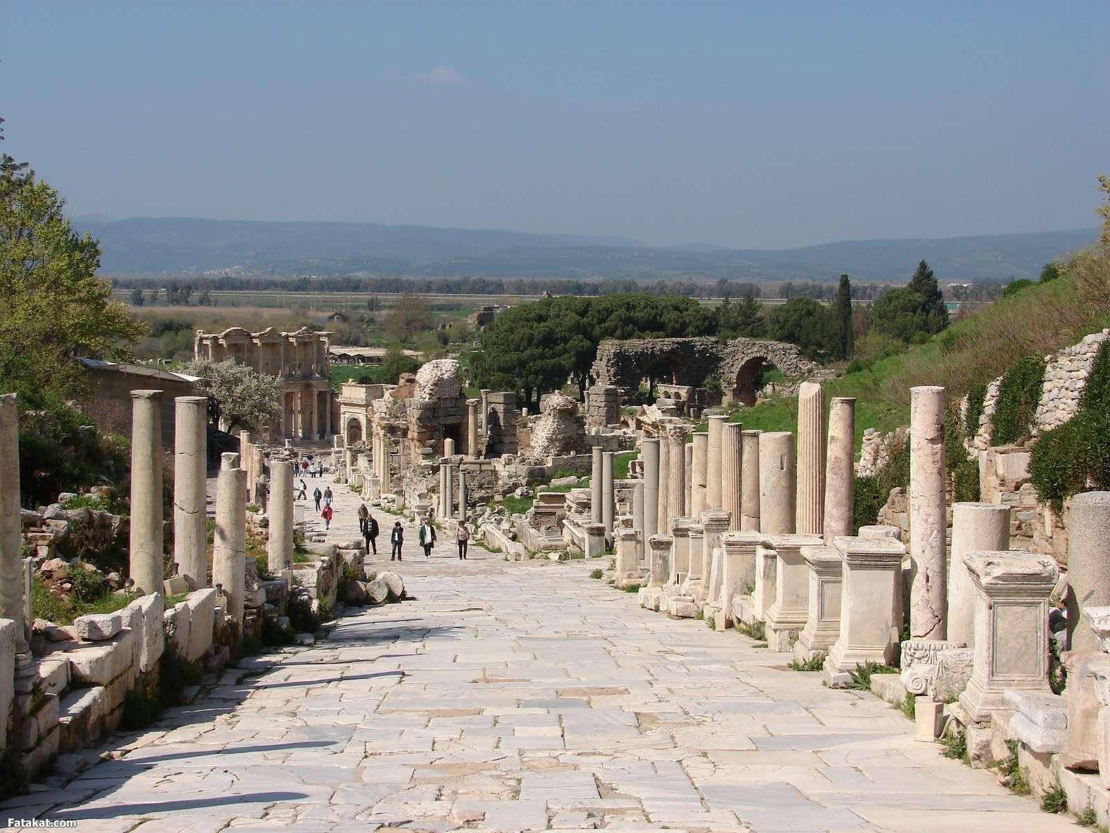 المدينة القديمة أفسس