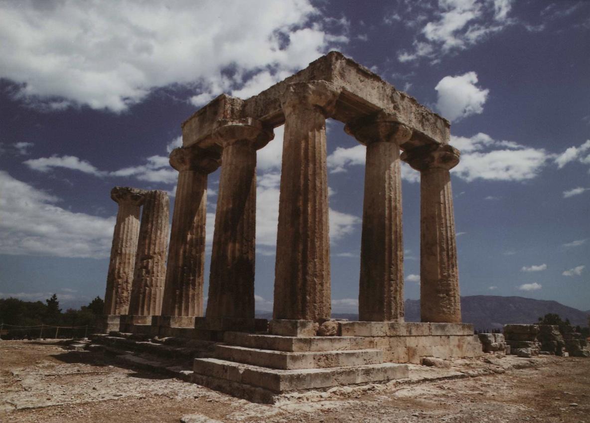 تاريخ معبد ابولو