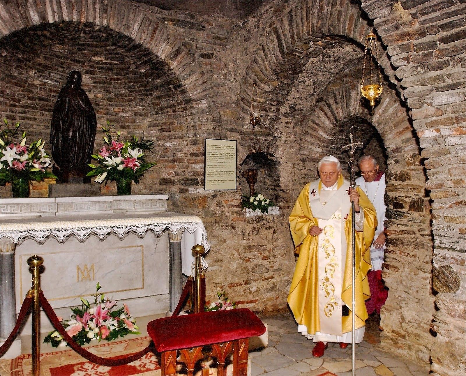 بيت المسيح والسيده العذراء