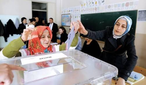 المرأة التركية