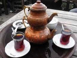 طريقة تحضير الشاي التركي