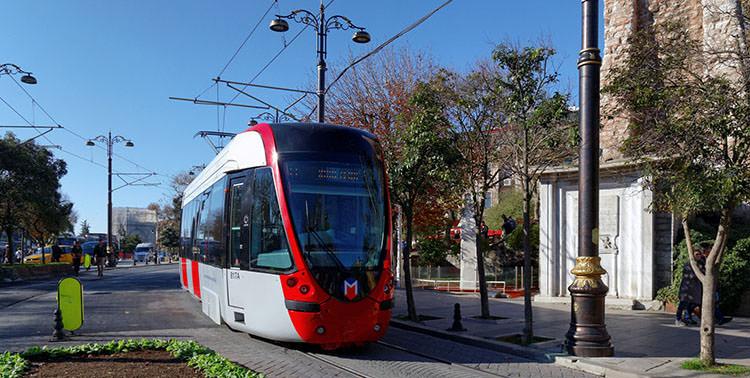 وسائل النقل العام في اسطنبول