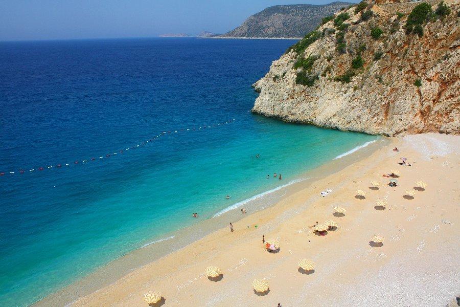 الشواطىء في انطاليا