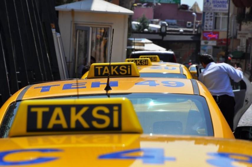 التاكسي في اسطنبول