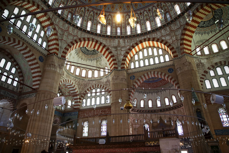 ادرنة التركية بوابة السلطان السعادة